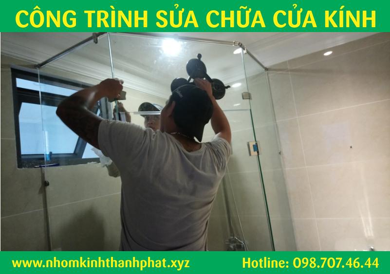 Dịch vụ sửa chữa cửa kính quận Bình Tân