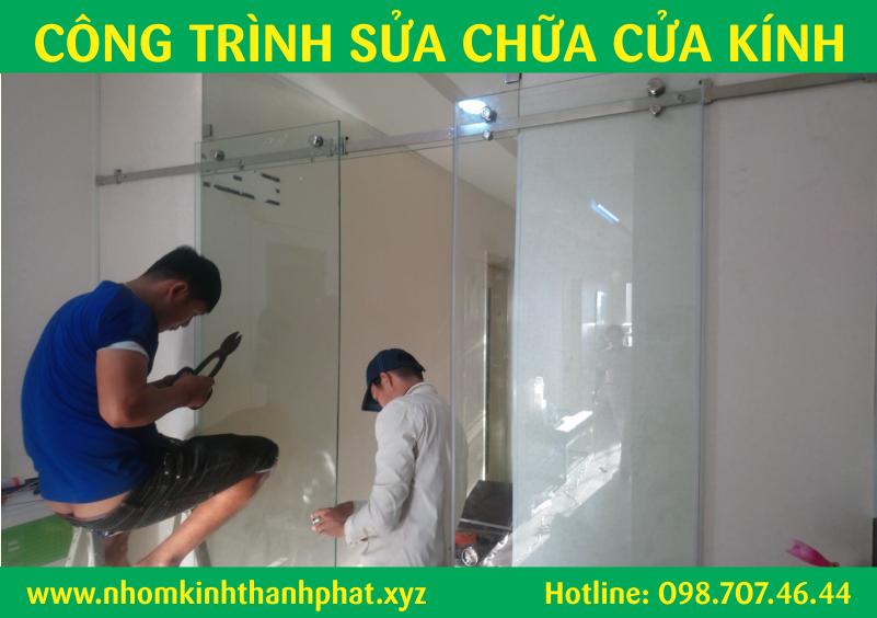 Sửa chữa cửa kính